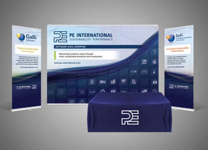 PE International Trade Show Booth Design