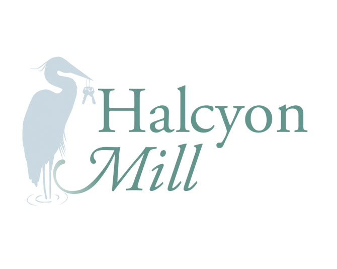 Halcyon Mill Logo Design
