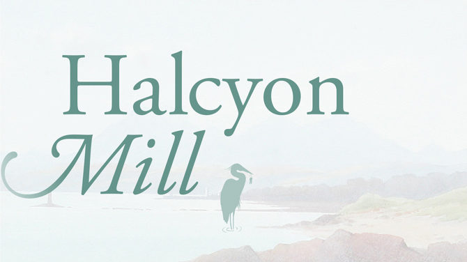 Halcyon Mill Logo Design