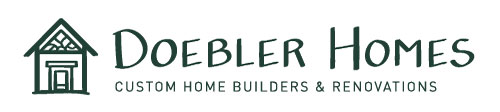 Doebler Homes Construction Logo Design Asheville