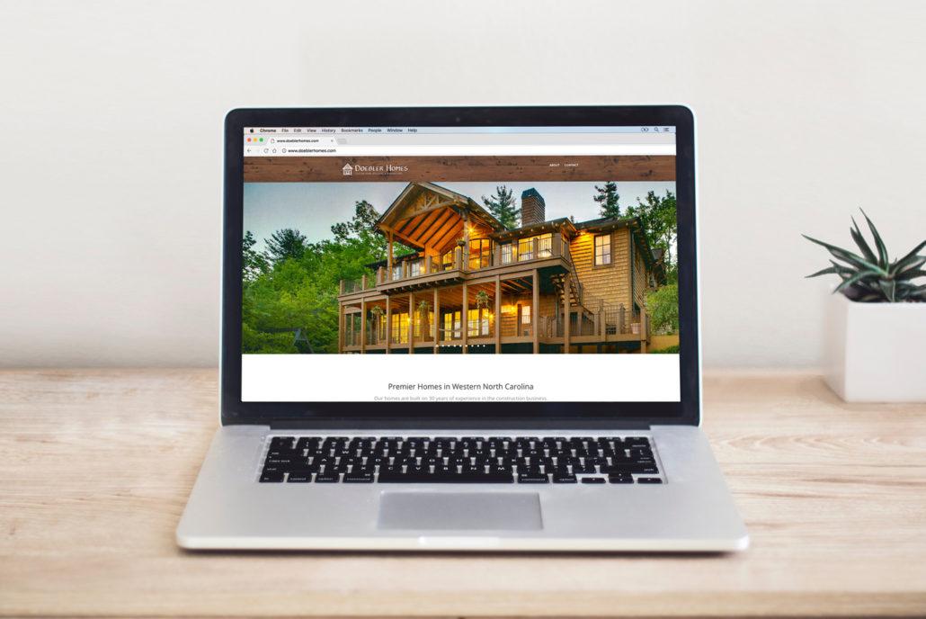 Doebler Homes Hendersonville, NC Homebuilder Website Design – www.DoeblerHomes.com